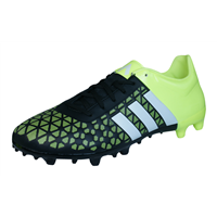 adidas Ace 15.3 FG / AG Mens Football Boots / Cleats - Yellow and Black
