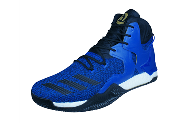 innovative design efd56 fa1c5 adidas D Rose 7 Mens Basketball Sneakers  High Top Shoes - Blue