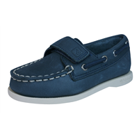 Sperry A/O H L Boys Leather Deck / Boat  Shoes - Navy