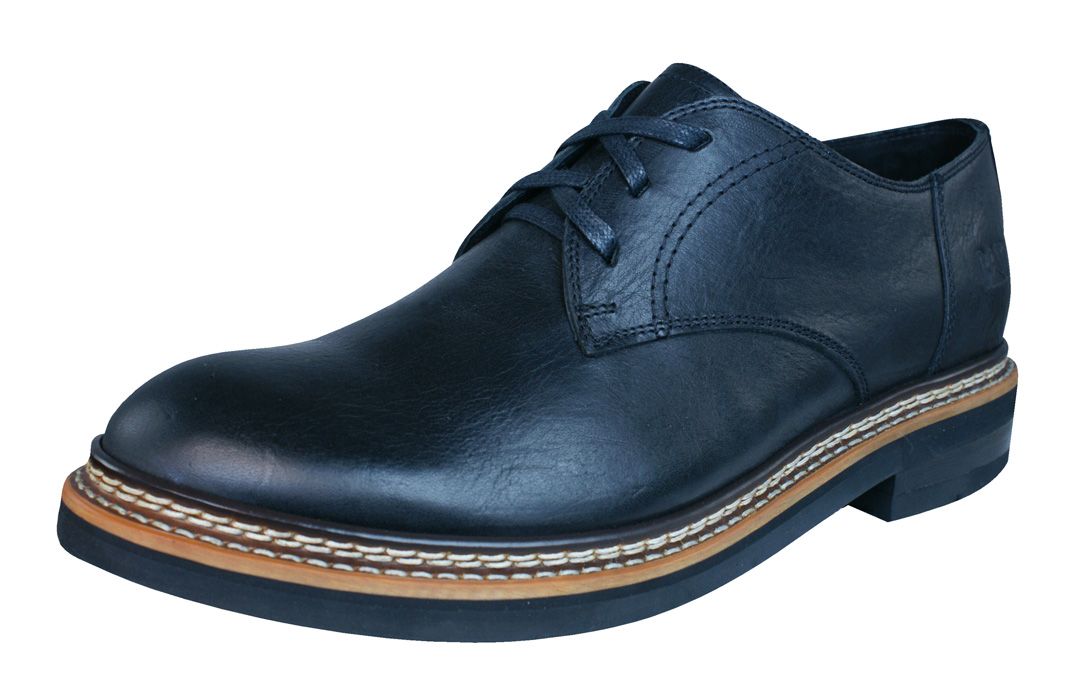 caterpillar hyde mens leather casual formal shoes