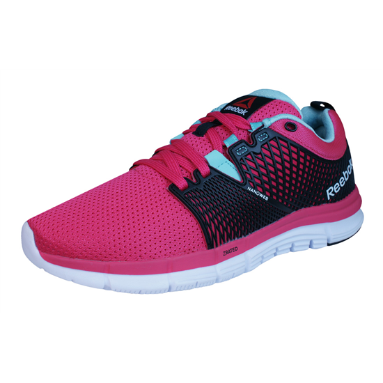 Picotear encuentro Excéntrico  Reebok ZQuick Dash Womens Running Trainers - Pink at galaxysports.co.uk