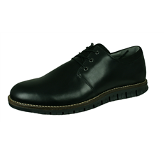 Sledgers Giuseppe Brogue Mens Lace-up Leather Shoes - Black
