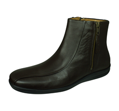 Sledgers Austin Mens Leather Chelsea Boots - Brown