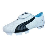 Puma V Konstrukt II GCi FG Womens Leather Football Boots / Cleats - White