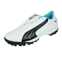 Puma V Kon II TT Womens Football Trainers - White