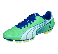 Puma V6.11 GC Jr Boys Football Boots / Cleats - Green
