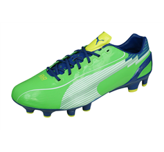 Puma evoSPEED 1 FG Mens Football Boots Firm Ground - Green