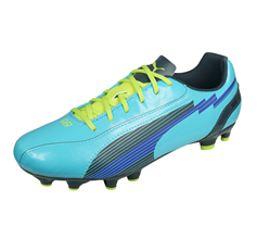 Puma evoSPEED 5 FG Womens Football  Boots Firm Ground - Blue