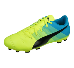 Puma evoPOWER 4.3 AG Boys Football Boots / Cleats - Yellow