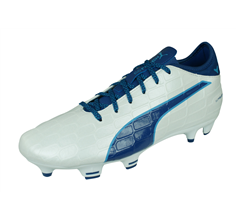 Puma evoTOUCH 3 FG Mens Football Boots / Cleats - White