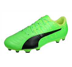 Puma evoPOWER Vigor 3 AG Mens Leather Football Boots - Green