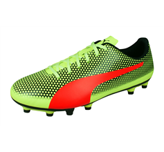 Puma Spirit FG Mens Football Boots / Cleats - Yellow and Red