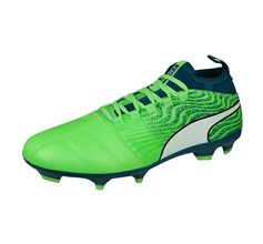 Puma One 18.3 AG Mens Football Boots / Cleats - Green