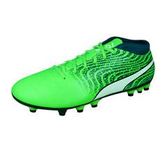 Puma One 18.4 AG Mens Football Boots / Cleats - Green