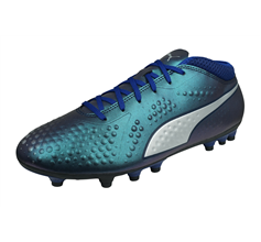 Puma ONE 4 Synthetic AG Mens Football Boots - Blue
