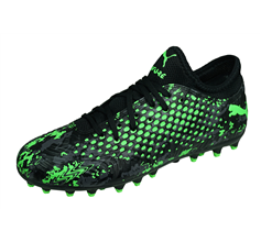 Puma ONE 19.4 MG Jr Boys Multiground Football Boots - Black and Green