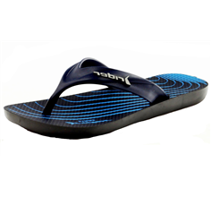 Rider Kids Strike Graphics Boys Flip Flops / Sandals - Navy
