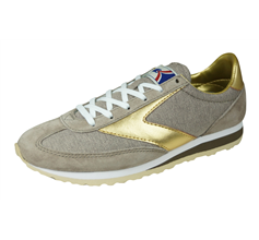 Brooks Vanguard Womens Vintage Trainers / Sneakers - Sand