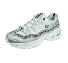 Skechers Energy Steel Wave Womens Trainers - Silver