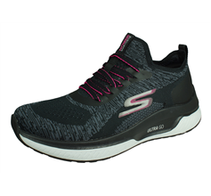 Skechers Go Run Steady Swift Womens Running Shoes / Trainers - Black