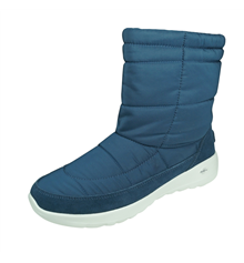 Skechers On The Go Joy Stay Cosy Womens Winter Suede Boots - Blue