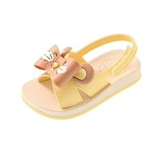 Baby Sense by Grendha Animal Infant Sandals - Lemon