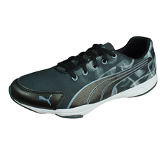 Puma Flx Graphic Womens Trainers / Shoes - Black