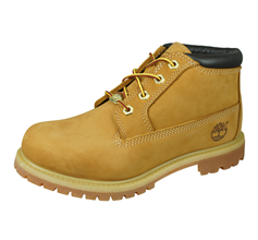 Timberland Nellie Womens Leather Ankle Boots - Wheat