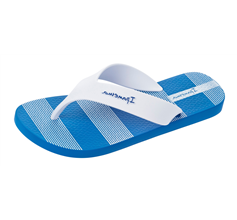 Ipanema Deck Mens Flip Flops / Sandals - Blue and White