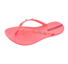 Ipanema Wave Hits Womens Flip Flops / Sandals - Coral