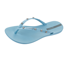 Ipanema Wave Hits Womens Flip Flops / Sandals - Sky Blue
