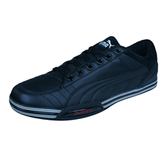 Puma 65CC Lo Ducati Mens Leather Trainers / Shoes - Black