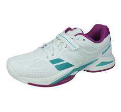 Babolat Propulse All Court Womens Tennis Shoes / Trainers - White