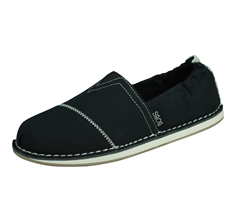 Skechers BOBS Chill Waterfront Womens Slip On Shoes - Black
