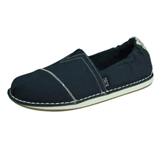 Skechers BOBS Chill Waterfront Womens Slip On Shoes - Navy