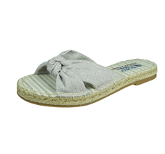 Skechers Bobs Maldives Womens Soft Woven Fabric Sandals - Taupe