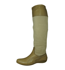 Puma Speedcat Re Luxe Boot Womens Leather Boots - Beige