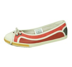Puma Rudolf Dassler Wellensprung Womens Ballet Pumps / Shoes - Red