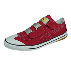 Puma 917 Lo Seatbelt Mens Canvas Trainers / Shoes - Red