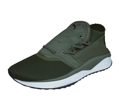 Mens Puma Trainers Tsugi Shinsei Training Shoes - Olive
