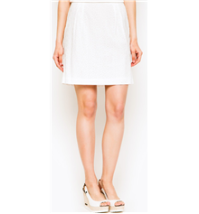 GANT Womens Pencil Skirt - White