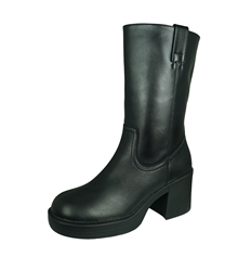 Skechers Jackpots Out Tonight Womens Mid Calf Boots - Black
