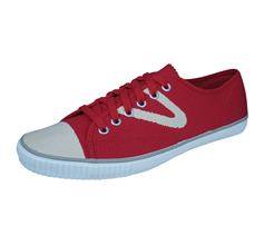 Tretorn T56 Bleka Mens Canvas Trainers / Plimsolls - Red