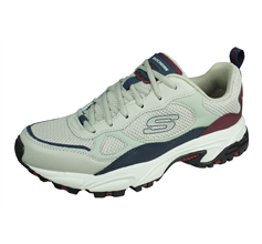 Skechers Stamina Bluecoast Mens Trainers / Shoes - Grey