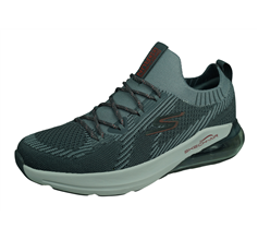Skechers Go Run Air Stratus Mens Running Trainers / Shoes - Grey