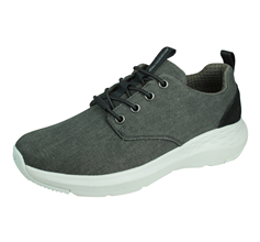 Skechers Parson Mentego Mens Casual Trainers Relaxed Fit - Black