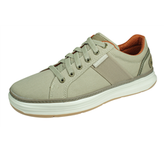 Skechers Moreno Ridson Mens Casual Trainers / Shoes - Beige