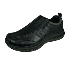 Skechers Expected 2.0 Wildon Mens Slip On Shoes Relaxed Fit - Black