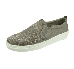 Skechers Goldie High Key Womens Slip On Shoes - Taupe