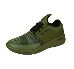 Supra Flow Run Mens Casual Trainers / Shoes - Olive